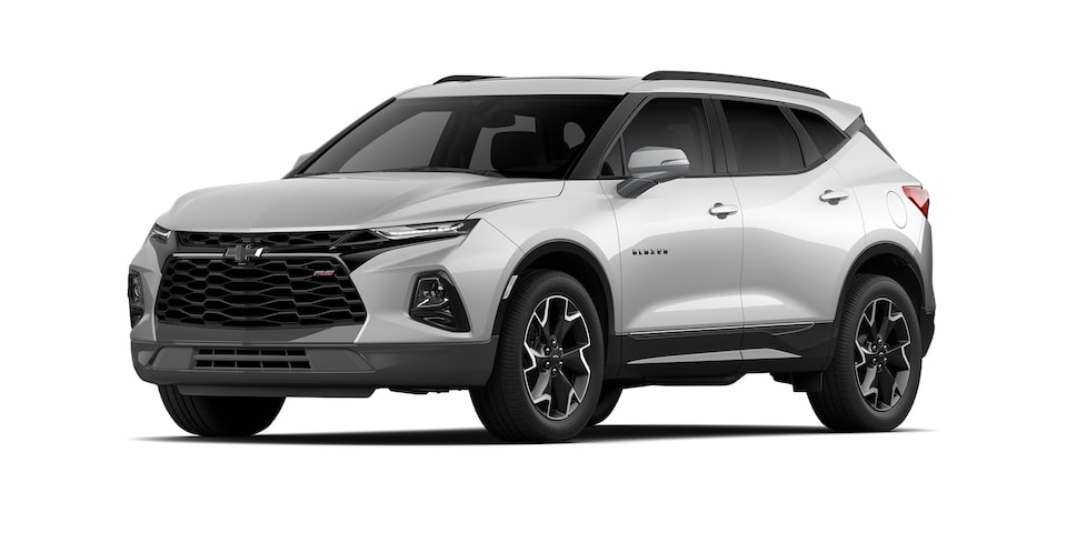 Chevrolet Blazer 2021 color blanco platino